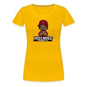 Female Micmoji Deluxe T  - Women's Premium T-Shirt