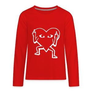 F U Lover Boy Sweatshirt - Kids' Premium Long Sleeve T-Shirt