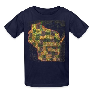 Wisconsin 1895 - Kids' T-Shirt
