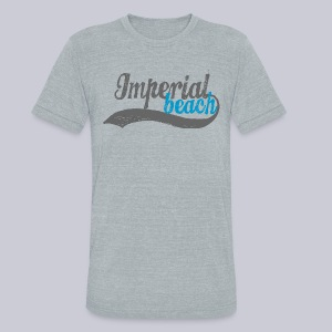 Imperial Beach - Unisex Tri-Blend T-Shirt by American Apparel
