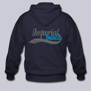 Imperial Beach - Men's Zip Hoodie