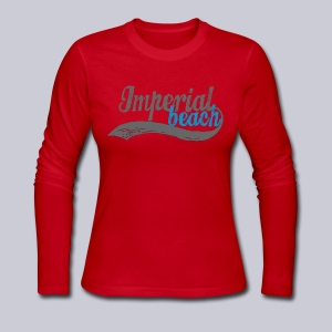 Imperial Beach - Women's Long Sleeve Jersey T-Shirt