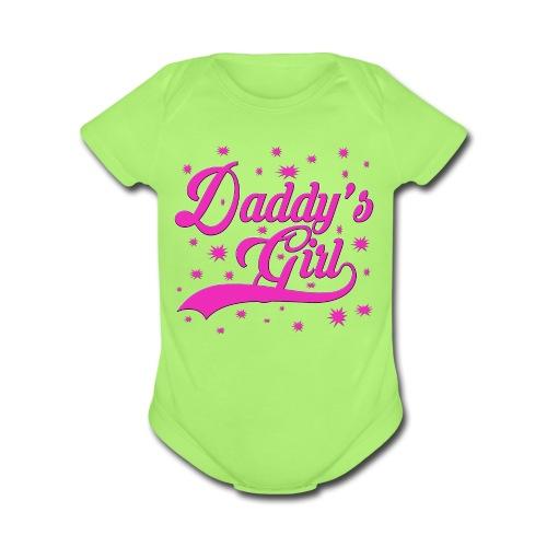 Daddy's Girl   - Organic Short Sleeve Baby Bodysuit