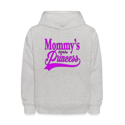Mommy's Little Princess Kids Hoodie - Kids' Hoodie