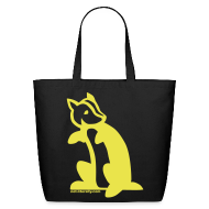 Bags & backpacks ~ Eco-Friendly Cotton Tote ~ Hufflepuff Tote Bag