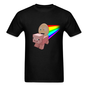 Nyan Pig - Mens T-Shirt - Men's T-Shirt