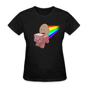 Nyan Pig - Ladies T-Shirt - Women's T-Shirt