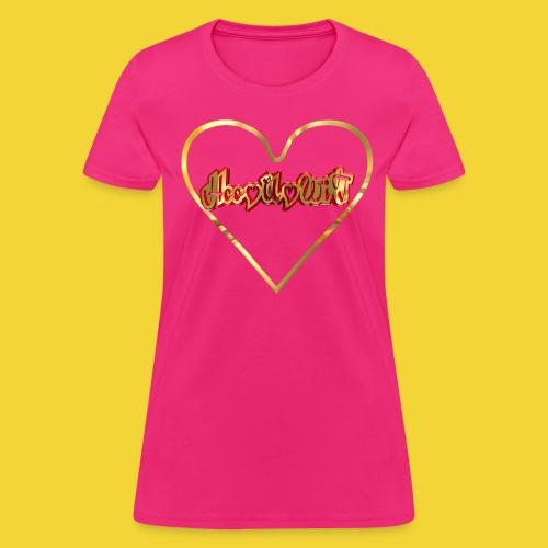 Golden  Heart - Women's T-Shirt