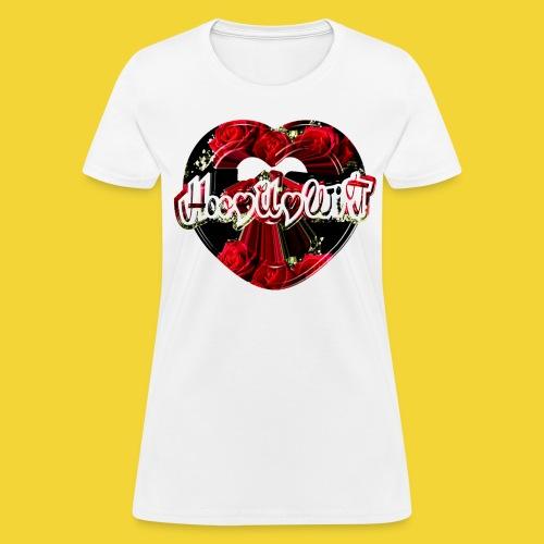 Rose Heart - Women's T-Shirt