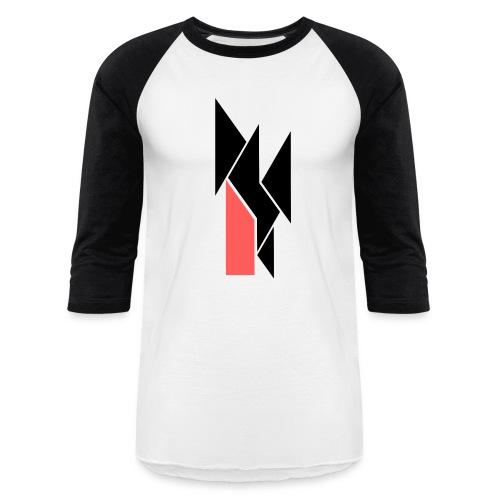Shards Mid-sleeve - Baseball T-Shirt