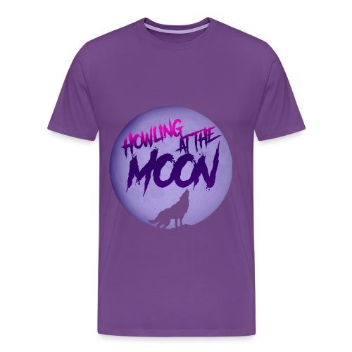 Howling Retro T-Shirt - Men's Premium T-Shirt
