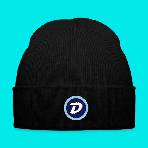 DigiByte Logo Knit Hat - Knit Cap with Cuff Print