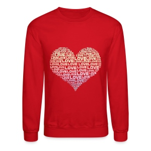 One Heart Big Love - Crewneck Sweatshirt
