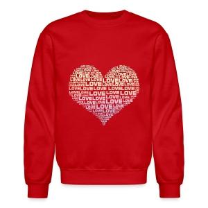 One Heart Big Love - Crewneck Sweatshirt