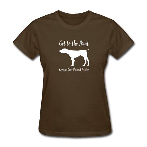 GSP.  Get to the Point. - Women's T-Shirt
