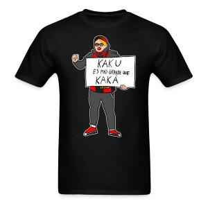 #KakuWatch - Black Men's T-Shirt - Men's T-Shirt