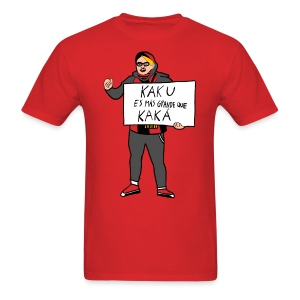 #KakuWatch - Red Men's T-Shirt - Men's T-Shirt