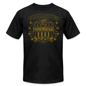 Combatives Shield Slim Fit - Men's T-Shirt by American Apparel