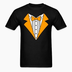 Tuxedo Orange Fun T-Shirt