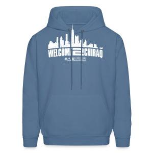 Official W2C City Logo (White) Hoodie - Men's Hoodie