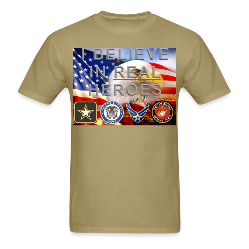 Real Heroes Mil/Civ - Men's T-Shirt