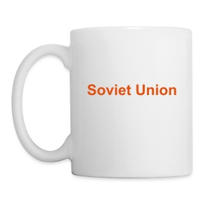 Soviet Union with Roundel Logo Coffee Mug - Coffee/Tea Mug
