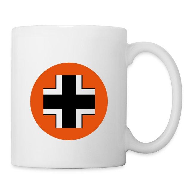 Germany Coffee Mug with Logo on reverse.