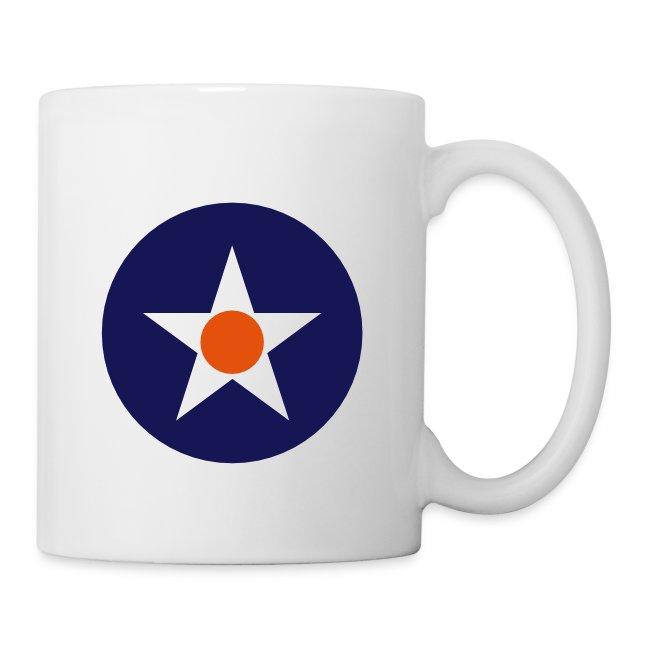 USA coffee mug with logo