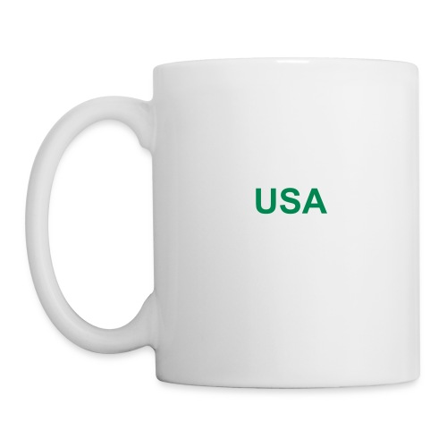 USA coffee mug with logo - Coffee/Tea Mug