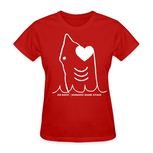 Romantic Shark Attack - Women's T-Shirt