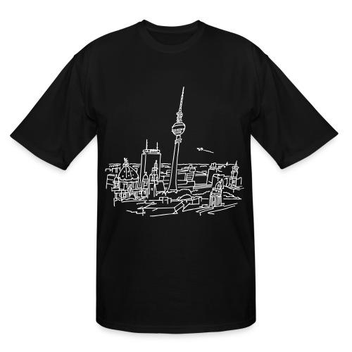 Panorama of Berlin  - Men's Tall T-Shirt