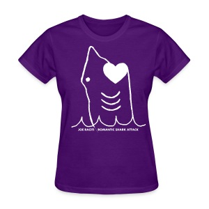 Romantic Shark Attack - Women's T-Shirt