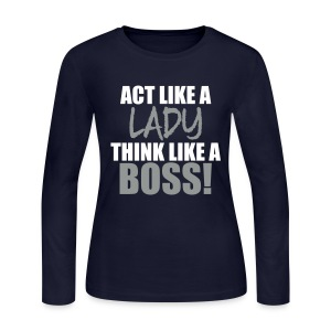 Boss - Women's Long Sleeve Jersey T-Shirt