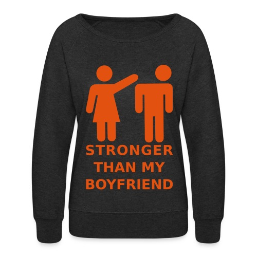 Stronger Girlfriend - Women's Crewneck Sweatshirt