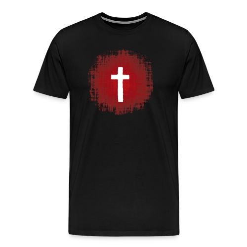 The Blood At The Cross - Men's Premium T-Shirt