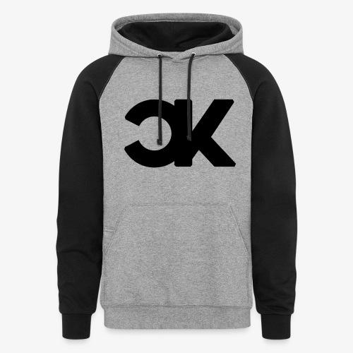 CapKev Black Logo 2.0 - Colorblock Hoodie