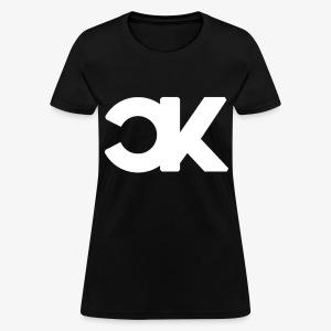 CapKev White Logo - Women's T-Shirt