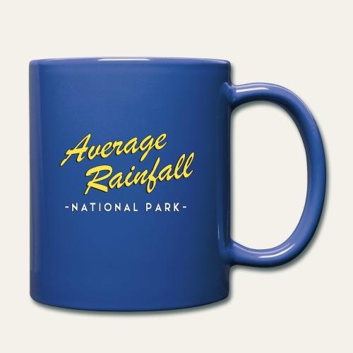 Average Rainfall Park Mug - Full Color Mug