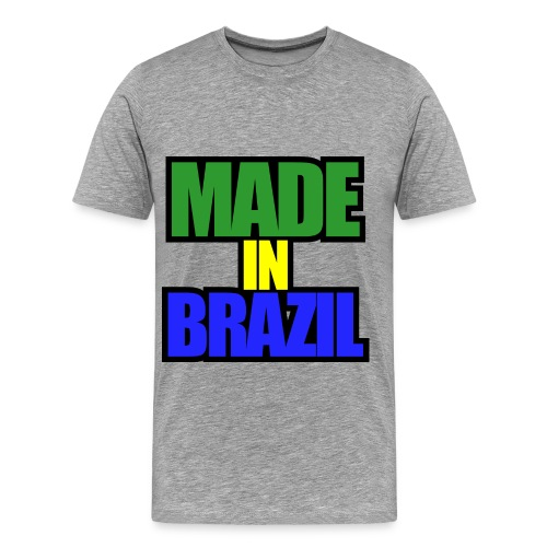 Made in Brazil 1 - Men's Premium T-Shirt