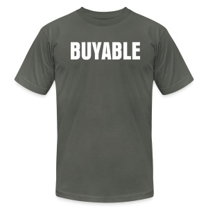 Buyable - Men's T-Shirt by American Apparel