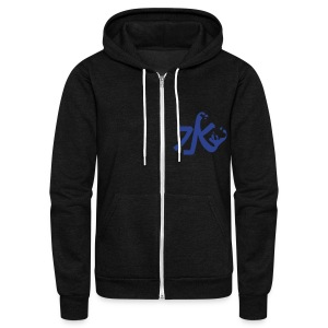 Water Style Mage Jacket - Unisex Fleece Zip Hoodie by American Apparel