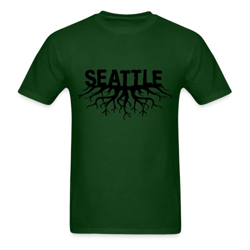 Seattle Roots - Men's T-Shirt