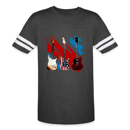 3 Guitars  - Vintage Sport T-Shirt