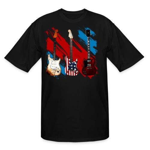 3 Guitars  - Men's Tall T-Shirt