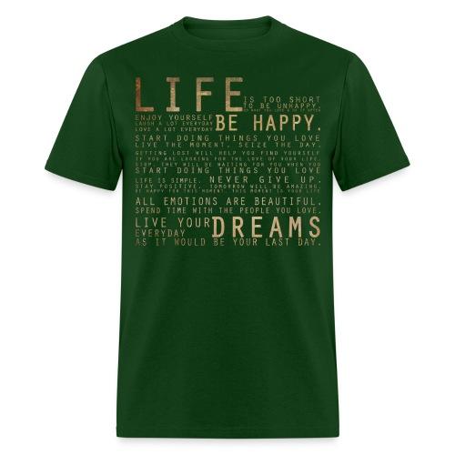 LIFE T-SHIRT - Men's T-Shirt