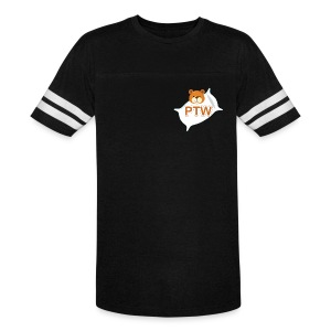 Vintage Double Stripe PTW Sport T-Shirt (Small Logo) - Vintage Sport T-Shirt
