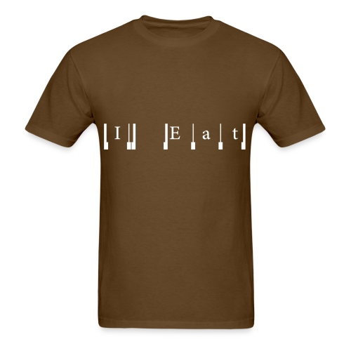 I Eat Cabbage - Men's T-Shirt