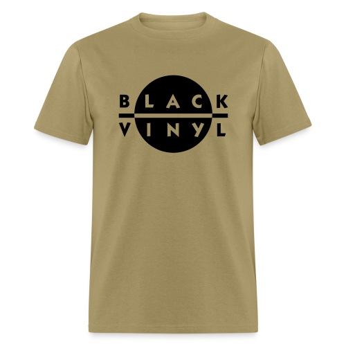 Black Vinyl New Logo Men's - Men's T-Shirt
