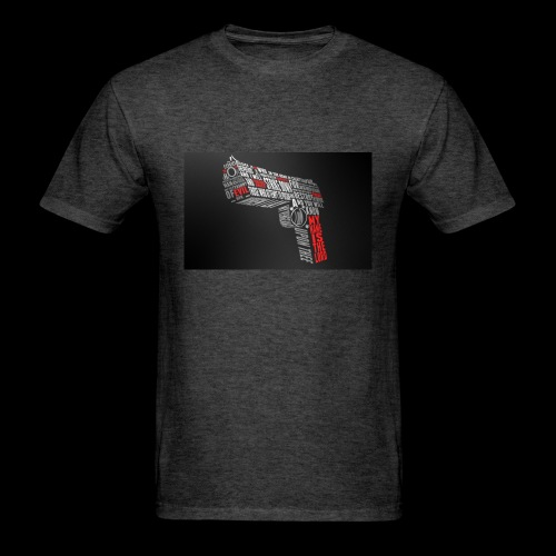 God Gun - Men's T-Shirt