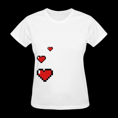 8 bit hearth - Women's T-Shirt
